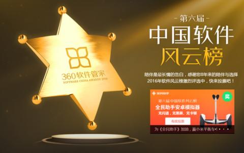 12款软件中国软件风云榜拿奖(名单)