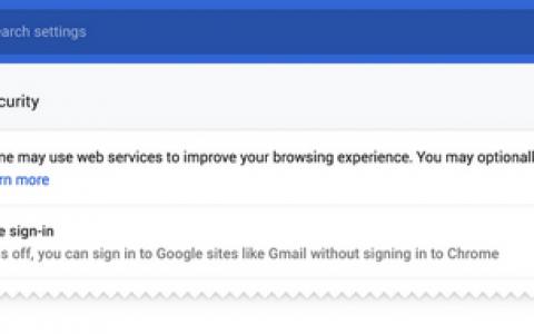 Chrome 70将发:不再连带登录,允许删Cookie