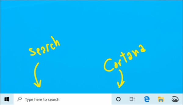 Win10小范围发布19H1: 小娜和搜索框分家