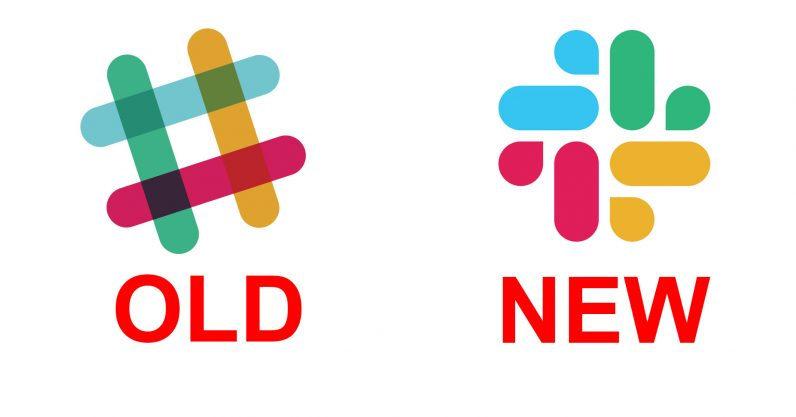 协作沟通应用Slack更换logo