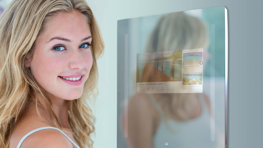 Smart Mirror:支持Android的智能镜在CES发布