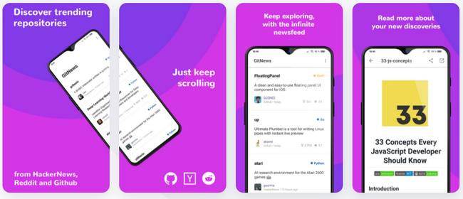 GitNews:发现Github上的最新项目