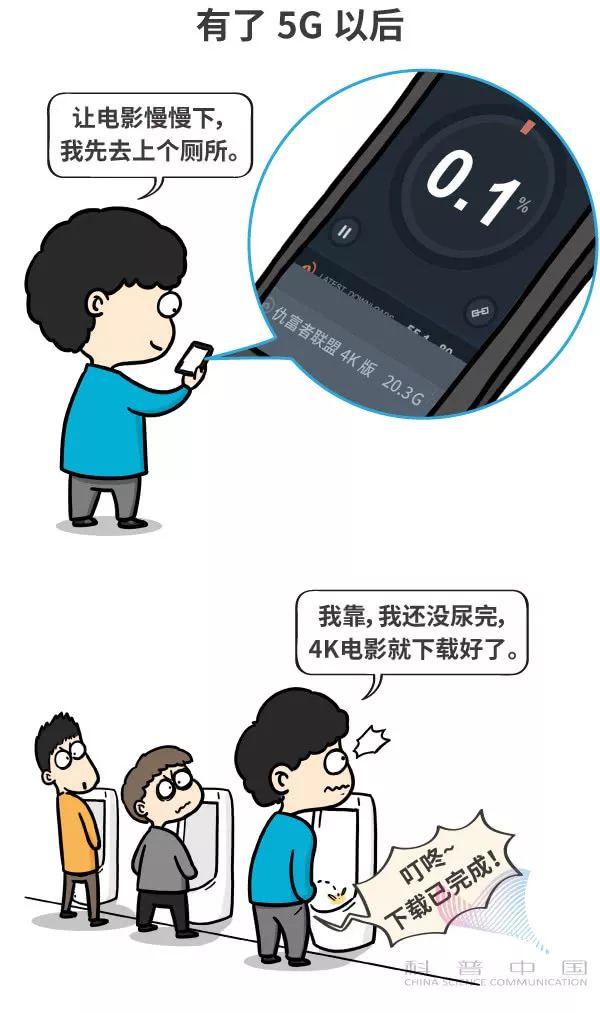 一幅漫画看5G到底是什么玩意儿的图片 第15张