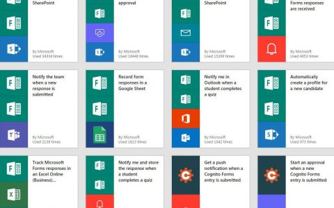 微软将发布 Microsoft Forms Pro 企业表单