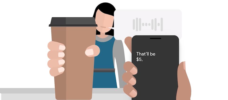 谷歌推即时字幕和声音增强App:助听力障碍用户沟通 第1张