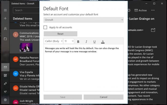 Windows 10 Mail正式支持Dark主题的图片 第13张