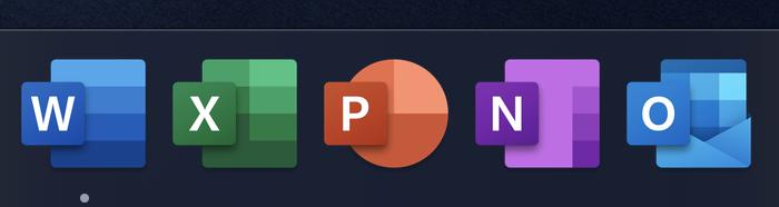 Office for Mac最新预览版启用新图标