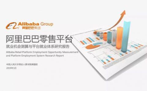 中国人民大学:阿里去年创造就业4000万