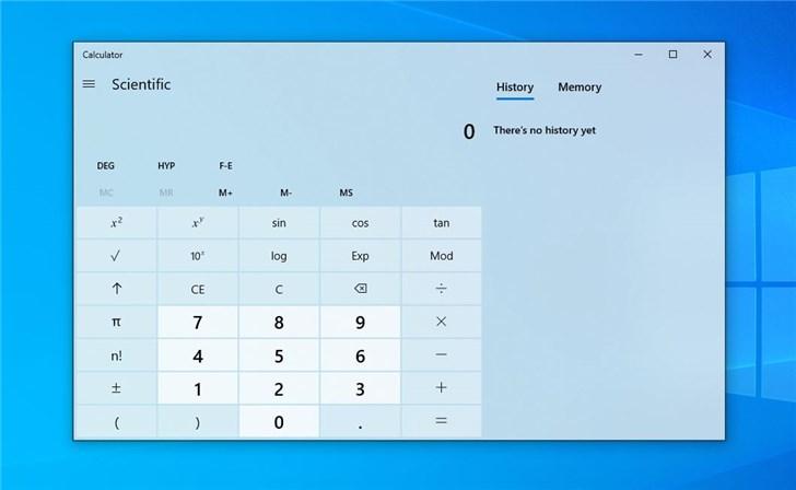Win 10计算器已被移植到Android/iOS等平台的图片 第1张