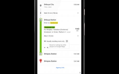 谷歌地图更新:预测交通拥挤