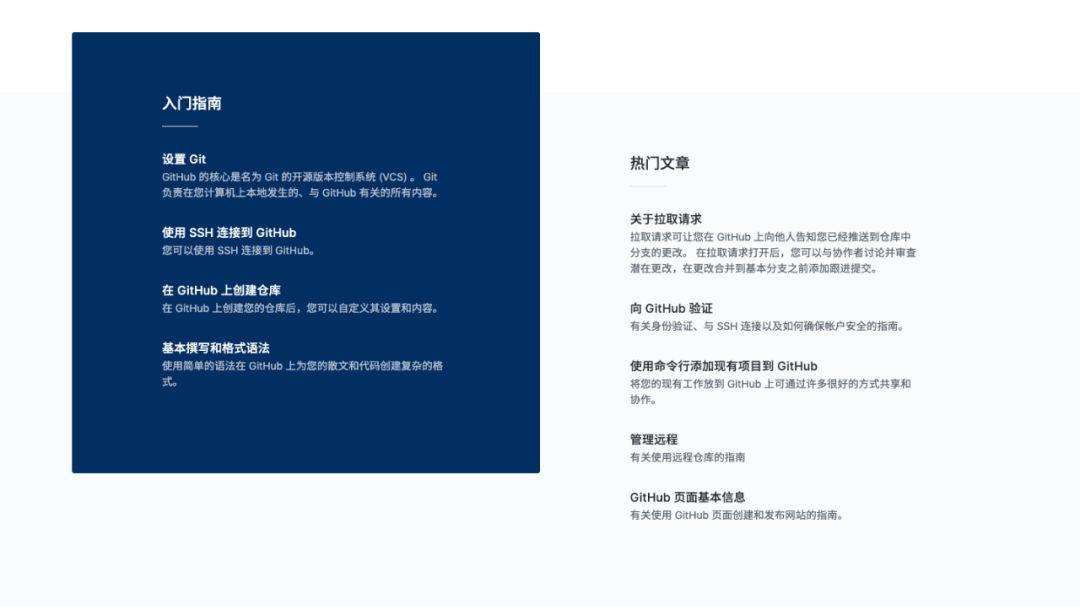 GitHub中文帮助文档上线的图片 第3张