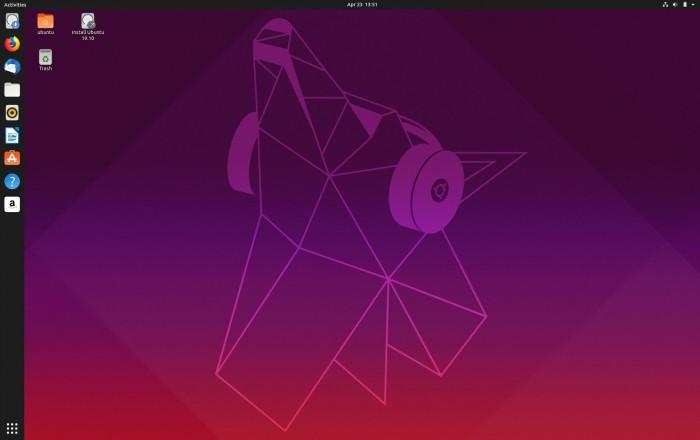 Ubuntu 19.10 壁纸大赛今天启动