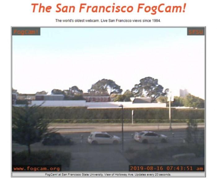 全球最老网络摄像头FogCam将关闭