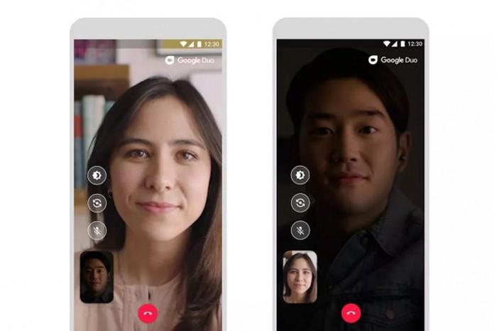 谷歌Duo App更新:优化黑暗聊天体验 第1张