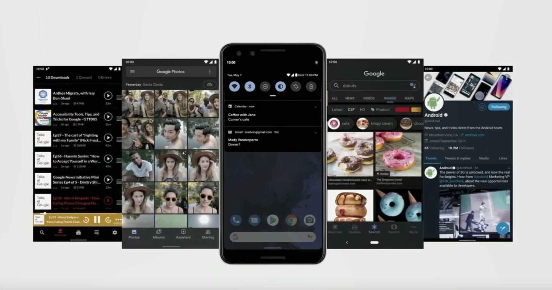 安卓10正式发布:新增黑暗模式、手势导航等重要更新的图片 第1张