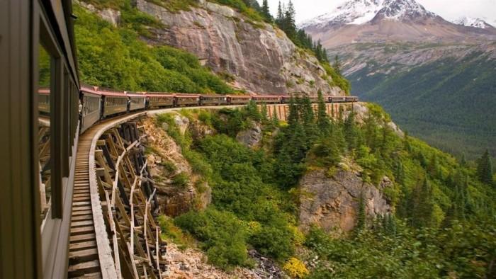 微软推出Panoramic Train Views 4K壁纸包的图片 第1张