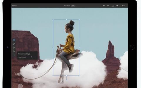 Adobe回应iPad版Photoshop投诉:将很快添加新功能
