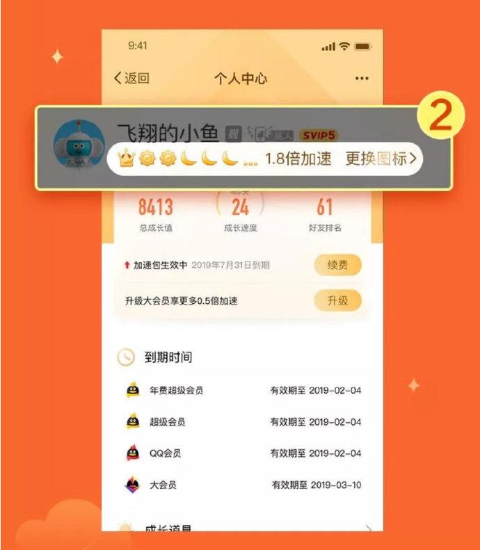 腾讯发布QQ等级专属图标 第3张