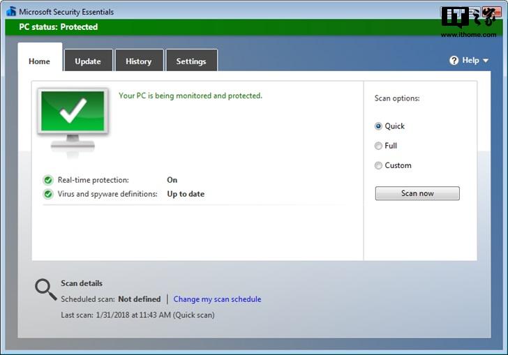 微软:Windows 7停止支持后,MSE杀软继续服务