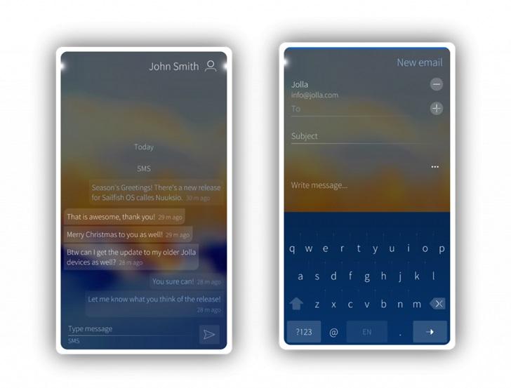 """旗鱼移动系统Sailfish OS 3.2.1""""Nuuksio"""" 发布 第1张"""
