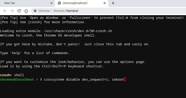 关闭Chromebook开发人员模式 第5张