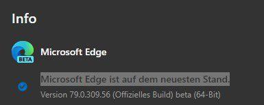 Chromium版Edge移除Beta标签:为正式发行准备