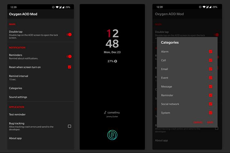 [APK] 让手机支持AOD(息屏显示)功能的图片 第1张