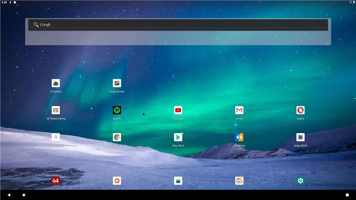 AndEX发布200108编译版:PC运行Android 10