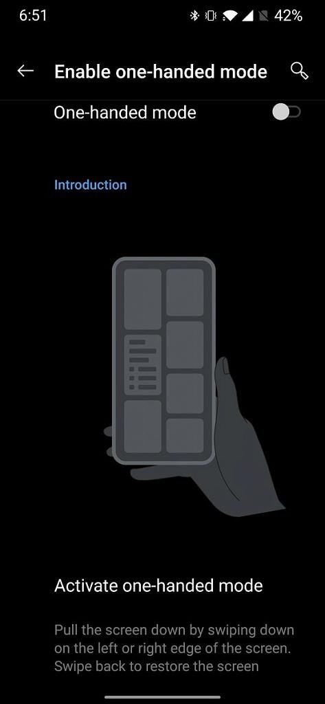 OnePlus 7系列OxygenOS Open Beta 8更新:新增单手模式