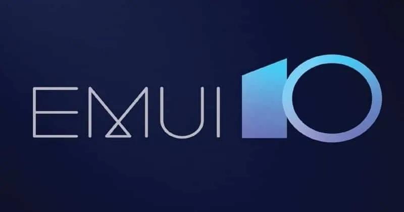 华为将向这些设备发布EMUI 10更新
