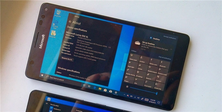 Windows 10 ARM项目进展顺利 :将攻克安卓旗舰