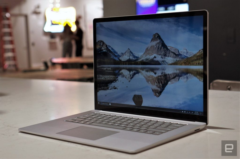 微软正调查Surface Laptop 3屏裂问题