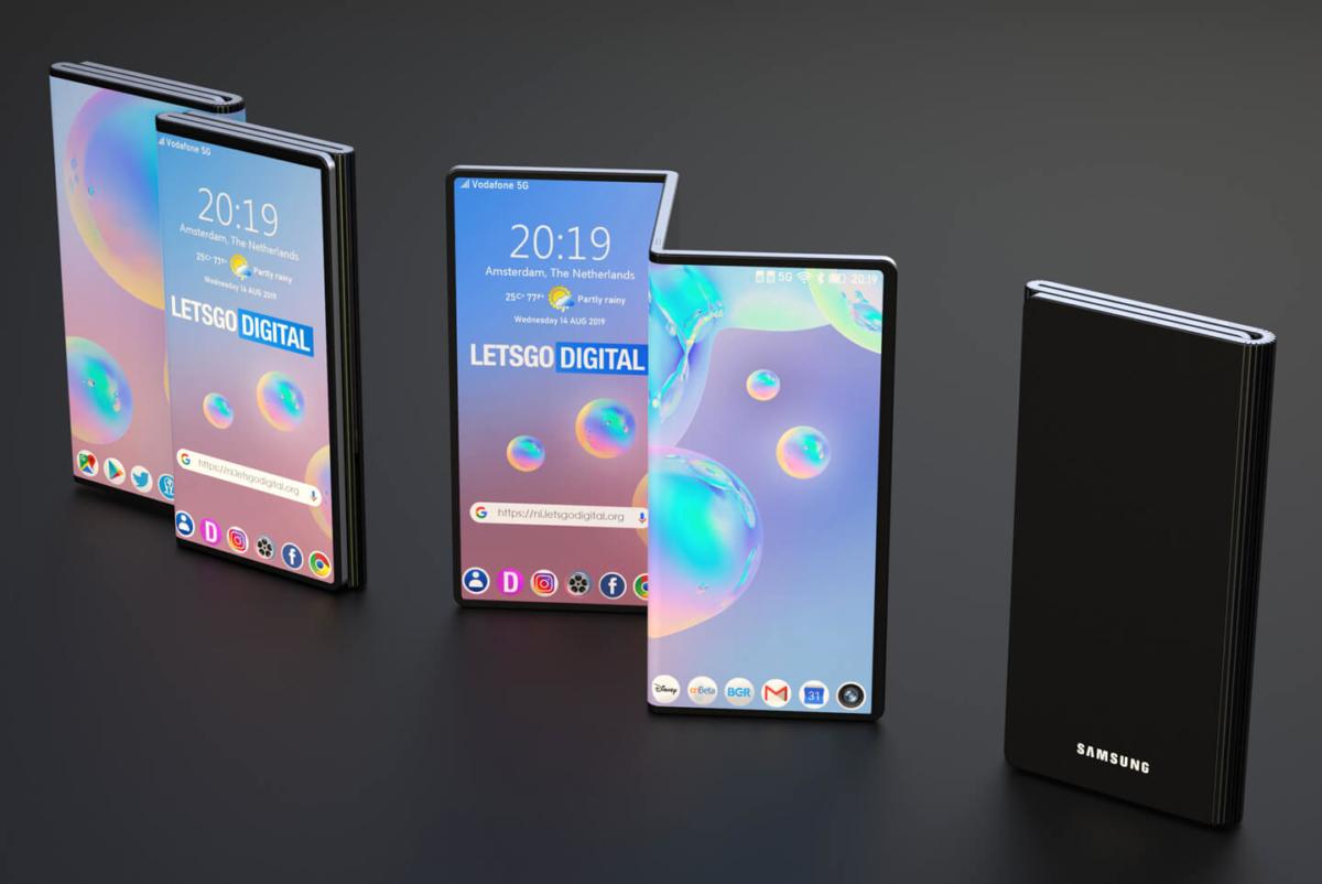 三星:市场尚未为三折叠智能手机做好准备