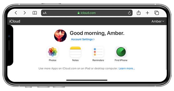 iCloud.com已支持安卓/iOS原生浏览器访问