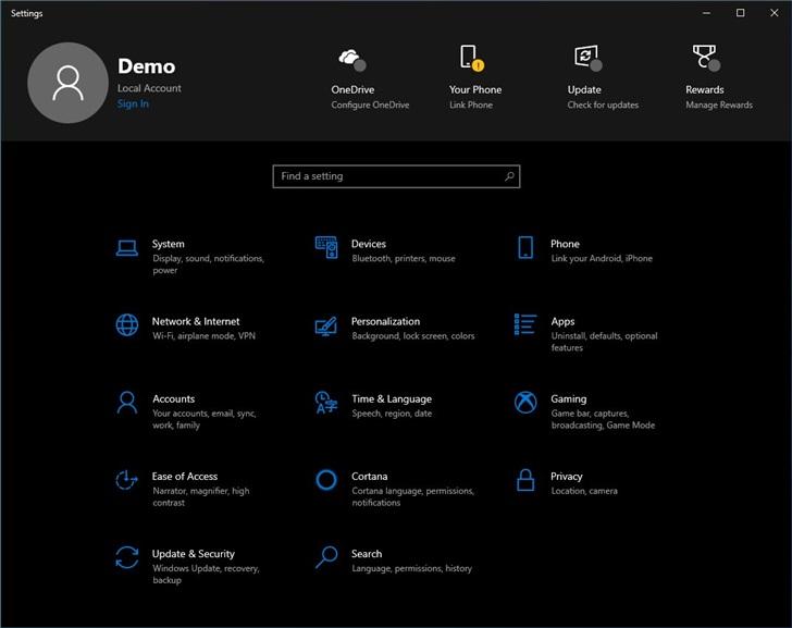 Windows 10设置顶部标题栏再次回归