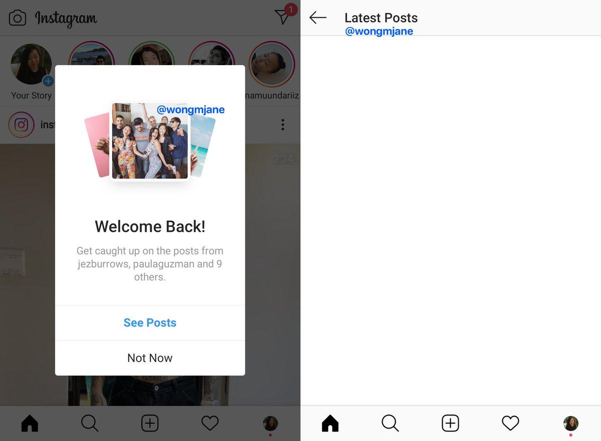 "Instagram正开发""最新帖子""功能"