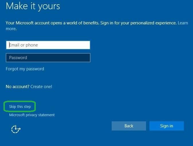 微软进一步推行隐藏Windows 10本地帐户举措