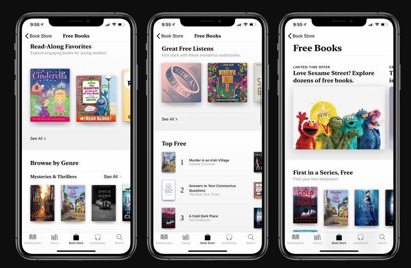 苹果现在向用户提供免费书籍和有声读物1