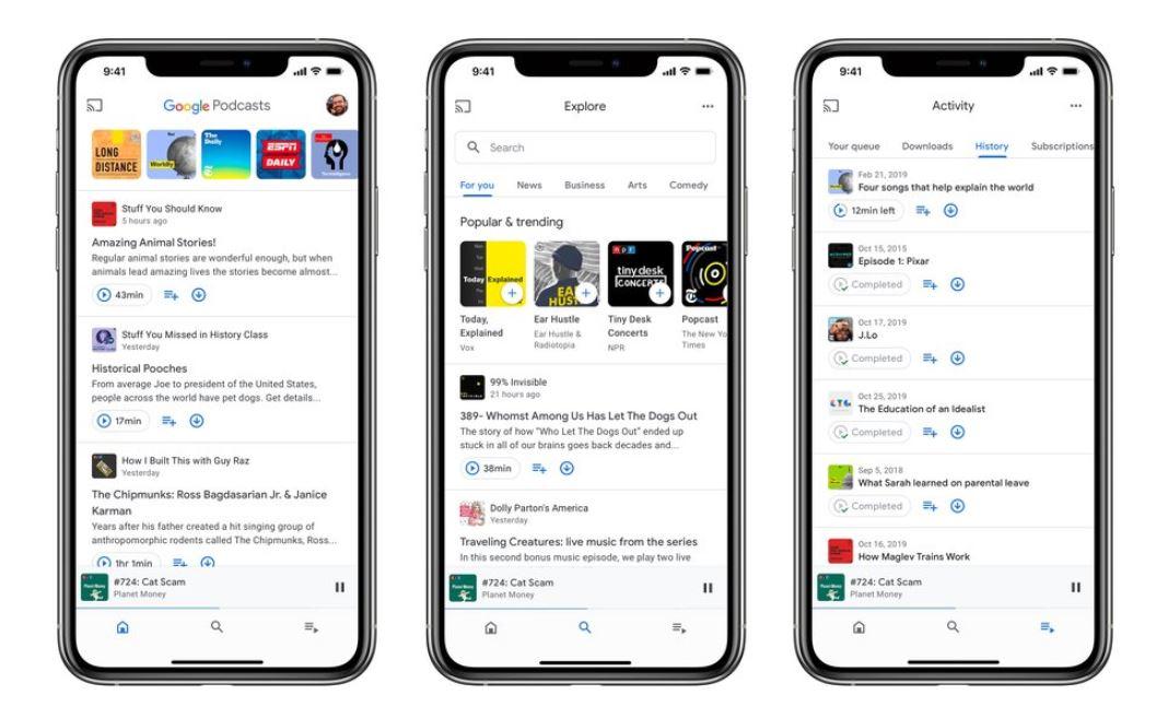 Google播客应用程序现在可在iOS设备上的App Store上使用1