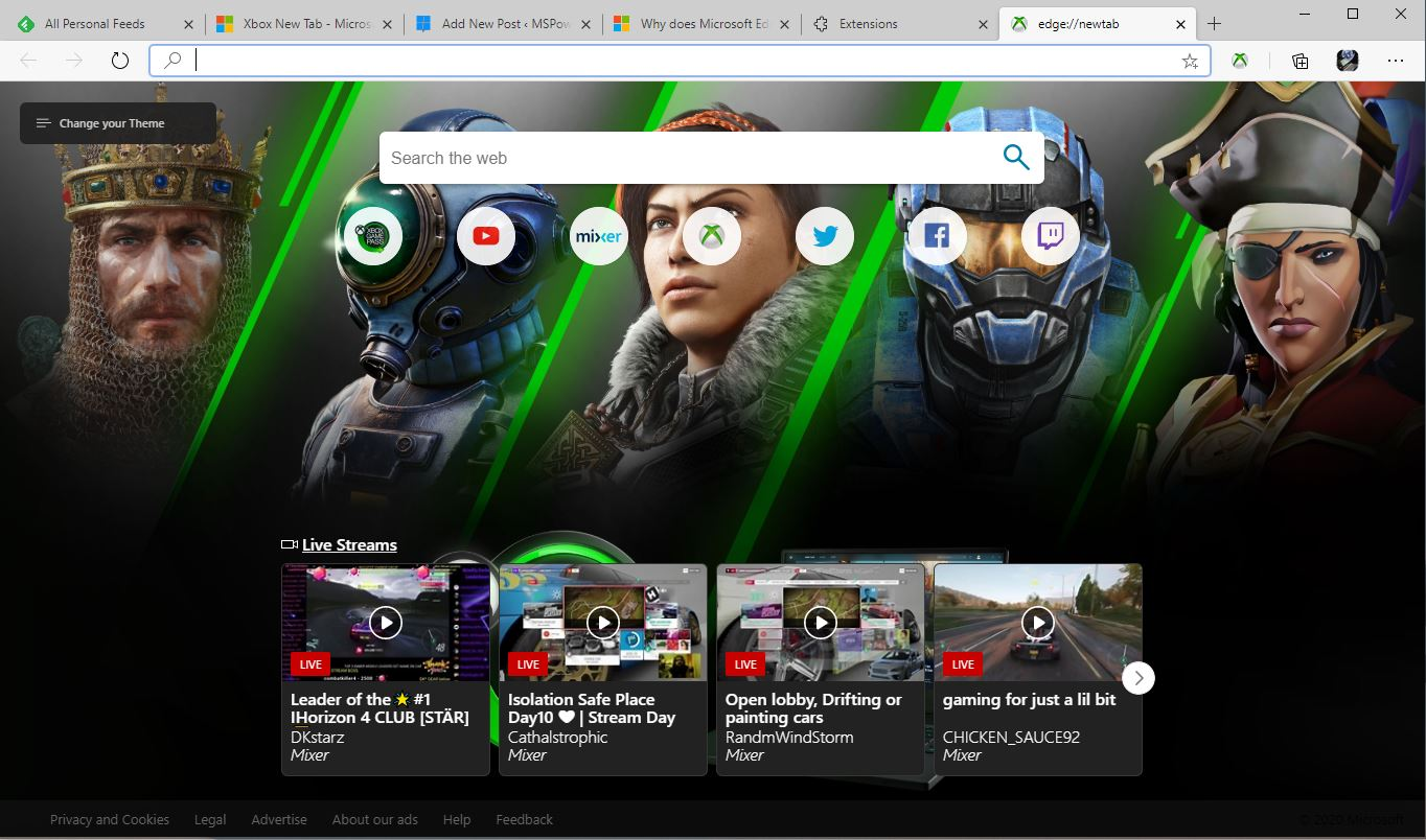微软为游戏玩家发布了Xbox New Tab扩展1