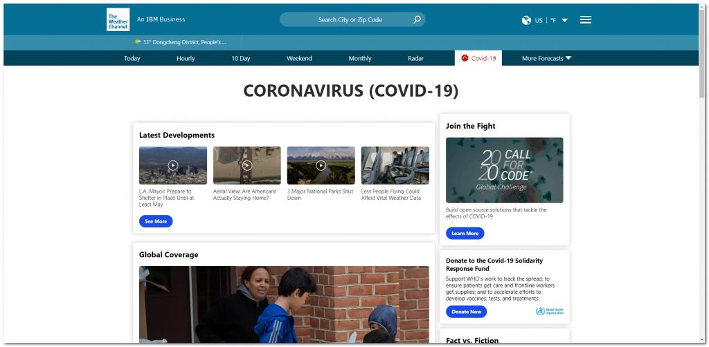 IBM推出新冠疫情在线监测工具(链接)