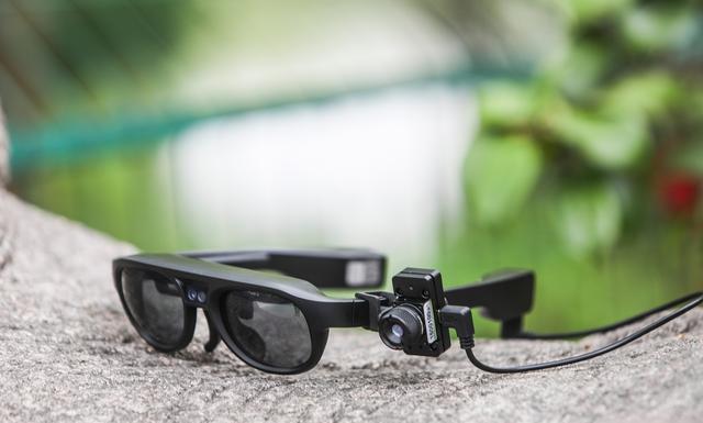 看一眼知体温:西溪湿地公园用上AR眼镜