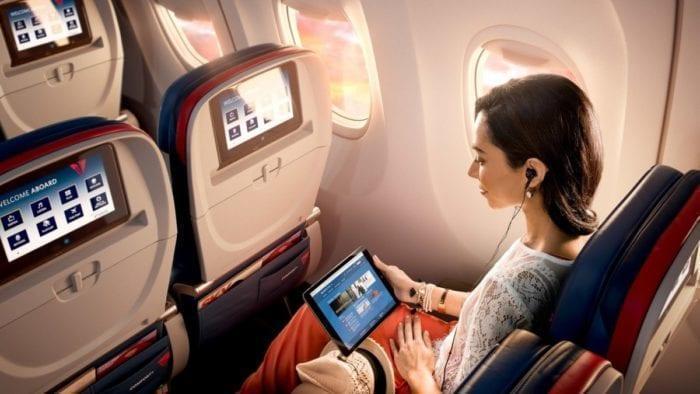 印度已允许国内航班提供机上WiFi