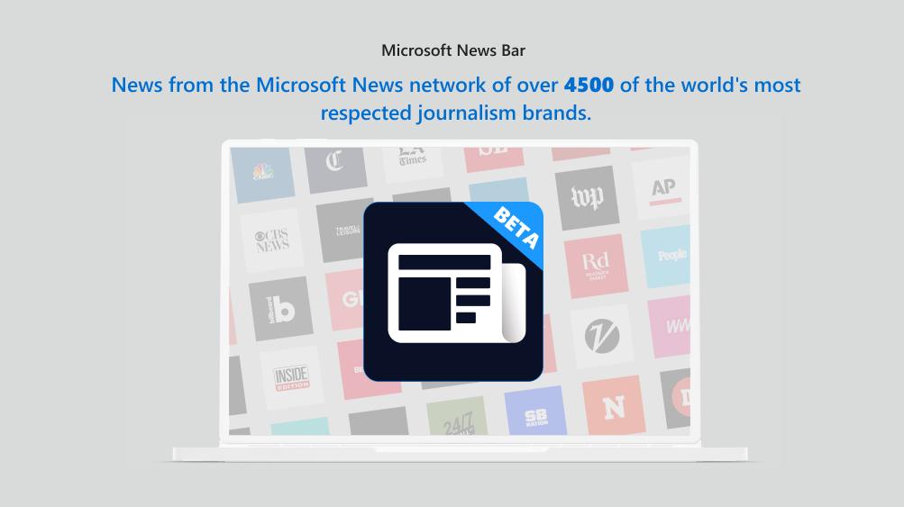 新闻栏显示来自全球超过4500个最受尊敬的记者品牌的新闻网络的新闻。