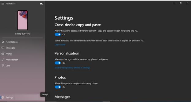 """""""设置""""屏幕突出显示了我们的UI改进,例如标题排版和背景色。"""