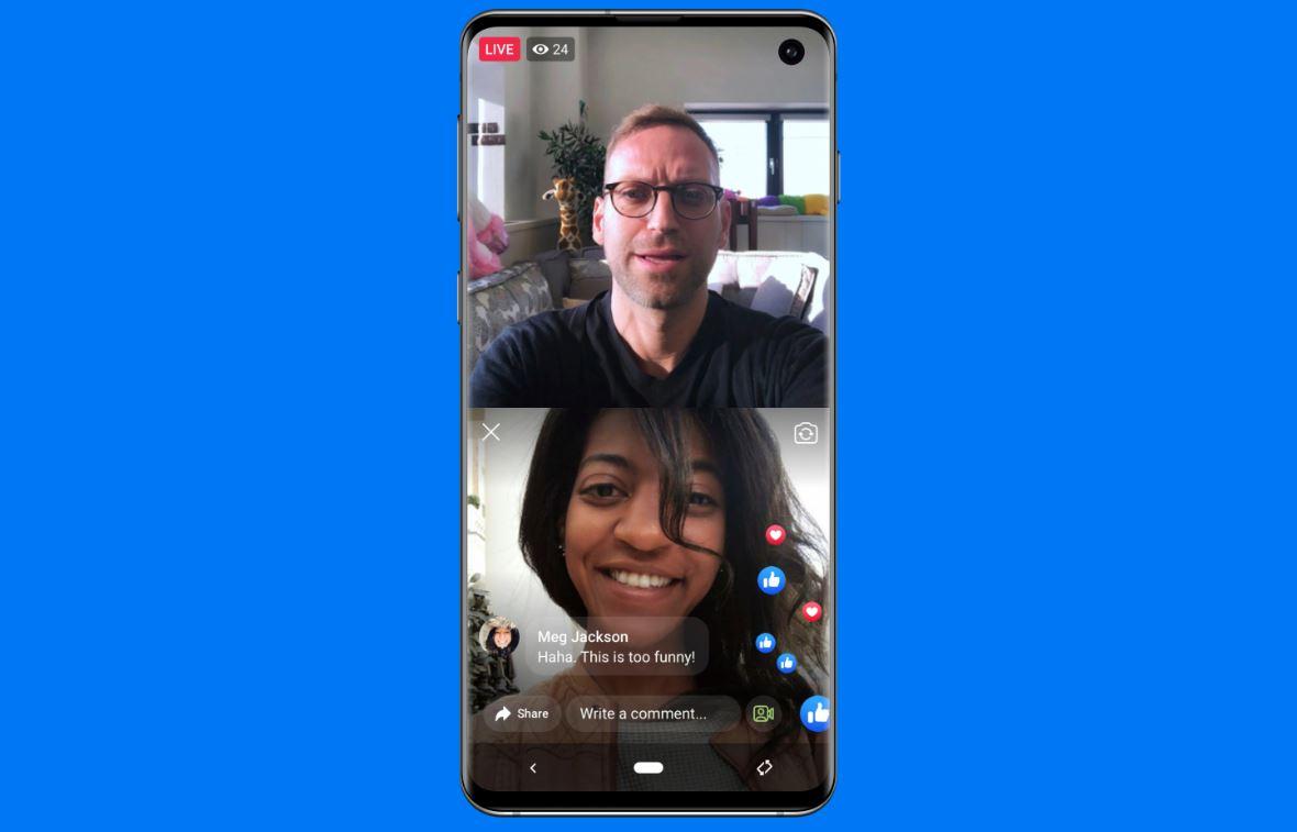 Facebook宣布了适用于Facebook和Instagram的几种新的实时视频功能1