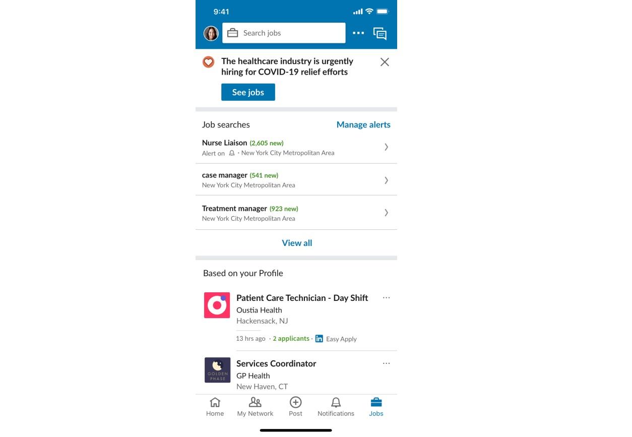 LinkedIn现在允许基本服务组织免费发布职位1