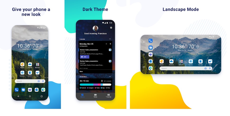 Microsoft Launcher Preview更新为Android 10手势支持1