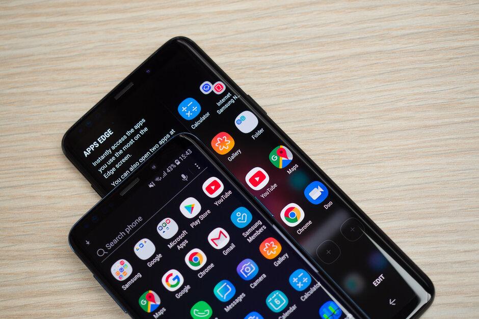 UI 2.1更新可能即将在Samsung Galaxy S9和Note 9上发布