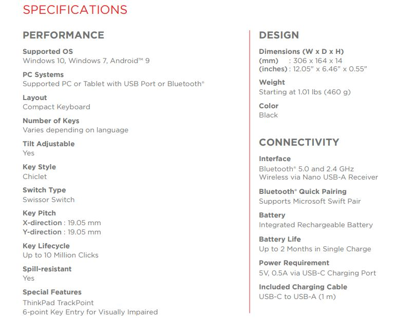 联想将ThinkPad的标志性键盘体验带入独立配件1